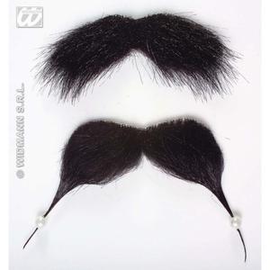 Black Moustache & Beard Goatee Jack Sparrow Pirate Fancy Dress Facial Hair