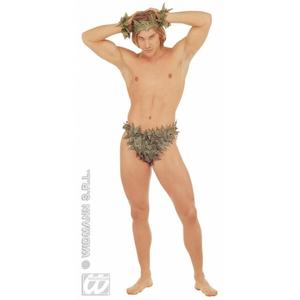 Adam Set of Adam & Eve Tarzan Fancy Dress Costme Kit Set Garden Of Eden
