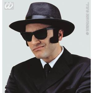 Blues Brothers Wayfare Gangster Sunglasses Glasses Fancy Dress Costume Prop