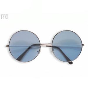 131c0d8eb8 Sentinel Large Round Blue Lense Sunglasses Hippy John Lennon Fancy Dress  Accessory