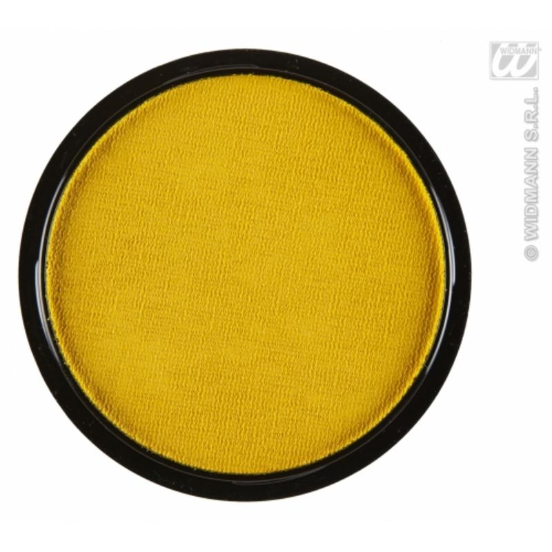 Water Based Fancy Dress Makeup Make Up Face Paint 15g - YELLOW