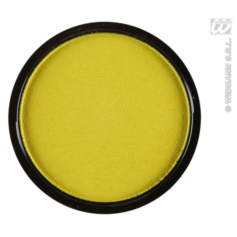 Water Based Fancy Dress Makeup Make Up Face Paint 15g - PASTEL YELLOW