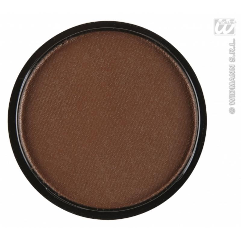 Water Based Fancy Dress Makeup Make Up Face Paint30g - BROWN