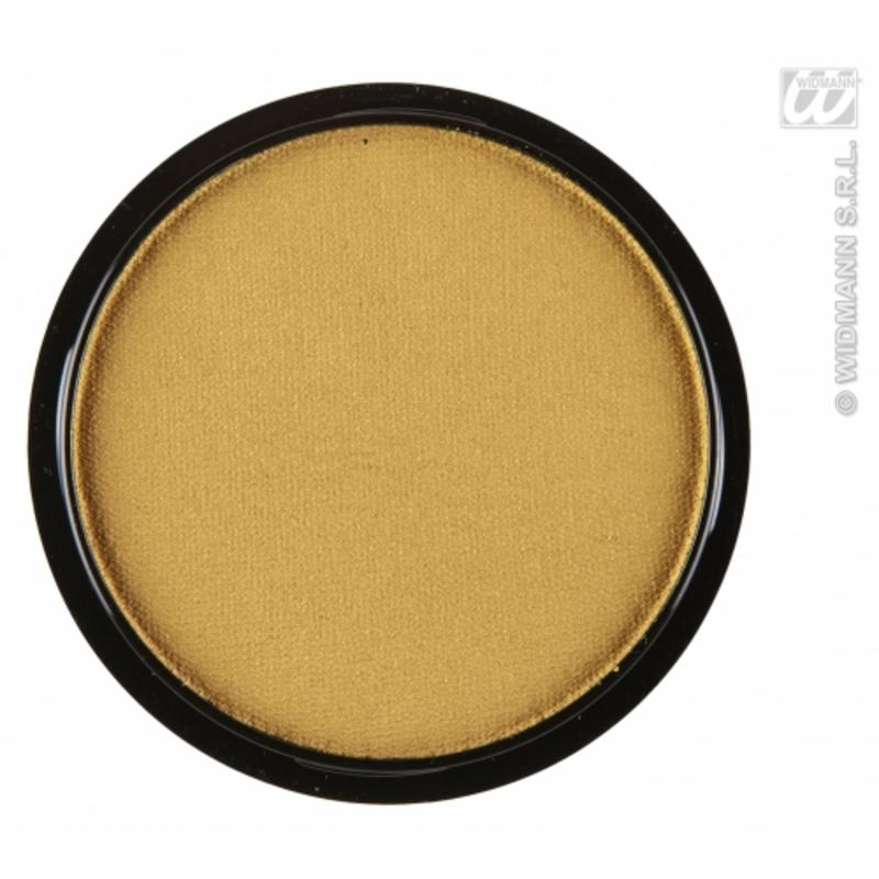 Water Based Fancy Dress Makeup Make Up Face Paint 15g - METALLIC GOLD