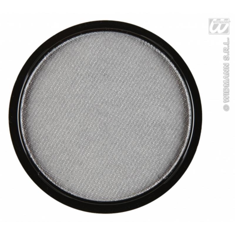 Water Based Fancy Dress Makeup Make Up Face Paint 15g - METALLIC SILVER