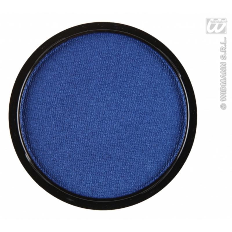 Water Based Fancy Dress Makeup Make Up Face Paint 15g - METALLIC BLUE