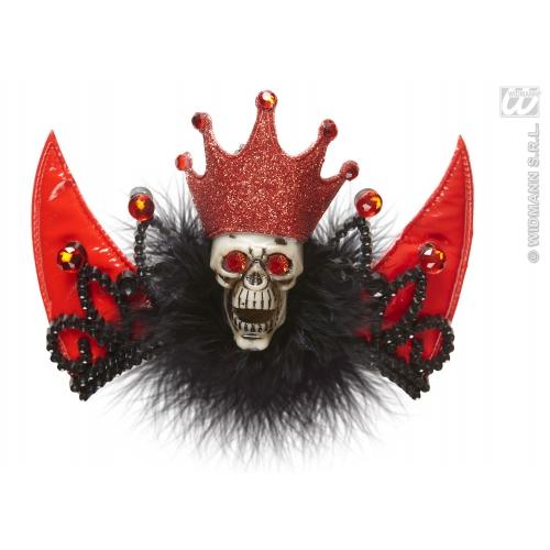 Ladies Halloween Voodoo Tiara Fancy Dress Costume Accessory Witch Craft Prop