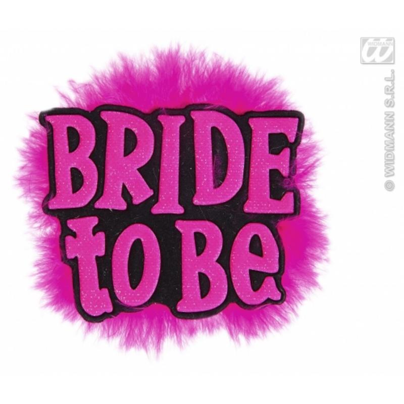 Bride To Be Hen Night Brooch Badge Fancy Dress Fun