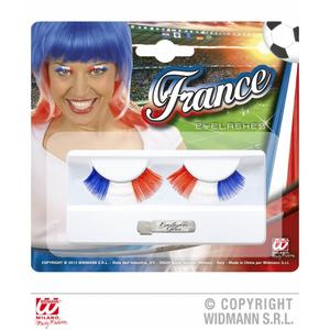 France Football Supporter French Eyelashes Fancy Dress & Glue
