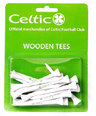 Celtic Fc Long Wooden Golf Tees Football Fan Golf Accessory