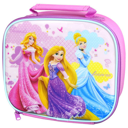 Pink Disney Princess Moments Insulated Lunch Bag Sandwich Carrier