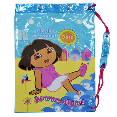 Dora The Explorer Swim School Gym Swimming Drawstring Bag 43cm x 32cm