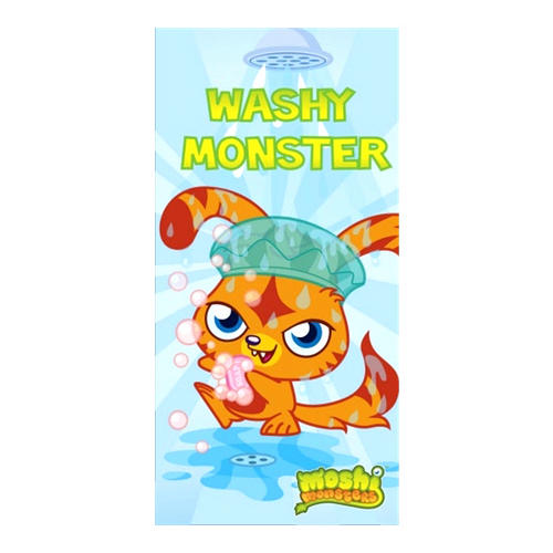 Childrens Moshi Monsters Monsters Beach Bath Towel 140cm x 70cm