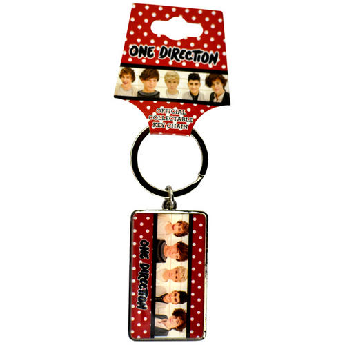 One Direction Keyring Key Ring Keychain - Official Merchandise