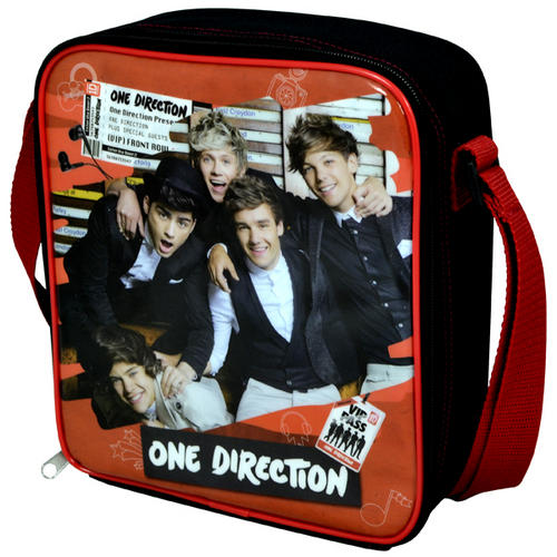 One Direction Vertical Insulated Lunch Bag Sandwich Snack Carrier - VIP Pass