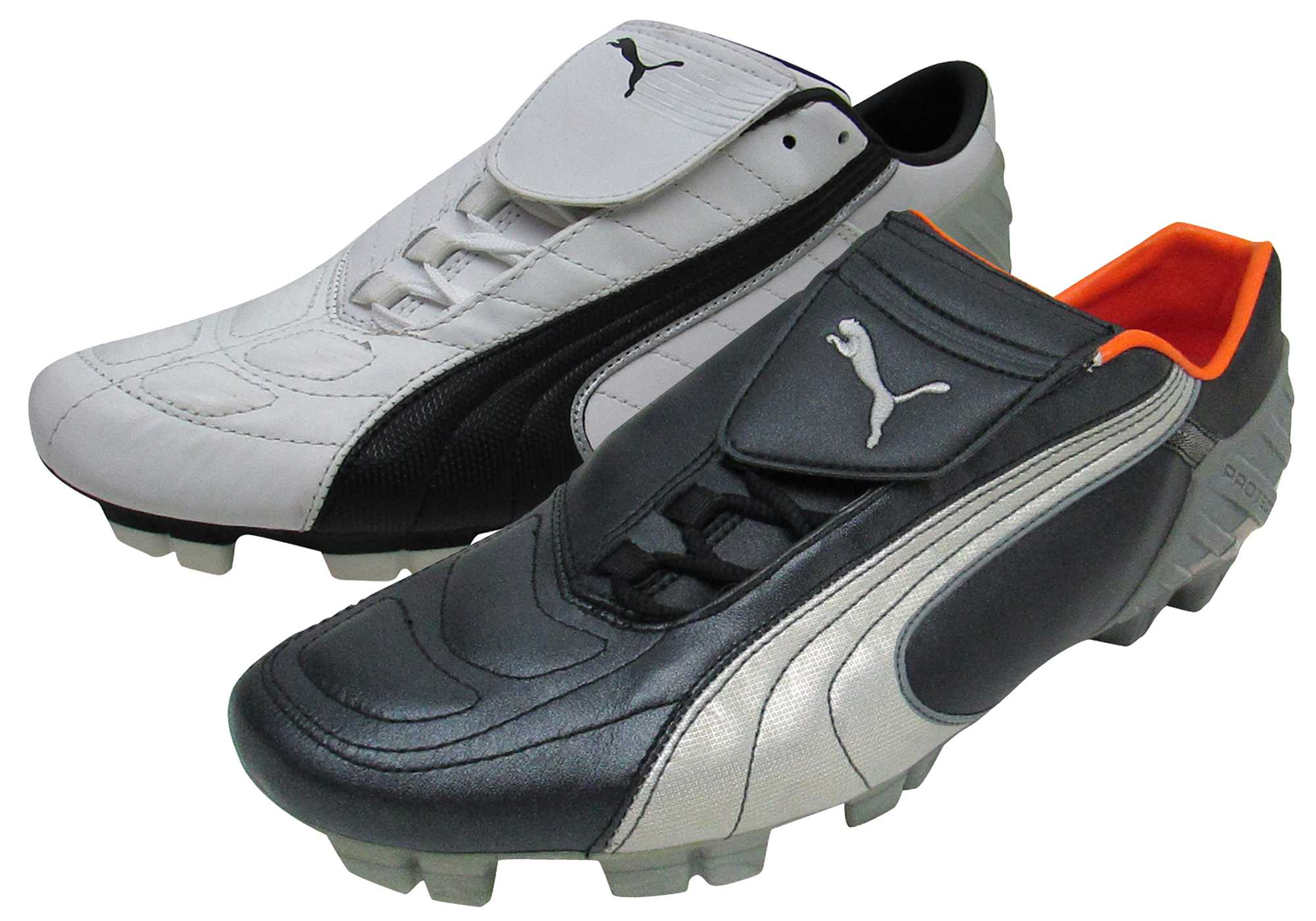 Mens Puma V-Kat GCi FG Football Boots Firm Ground Soccer Cleats Boot Leather 83af3891e