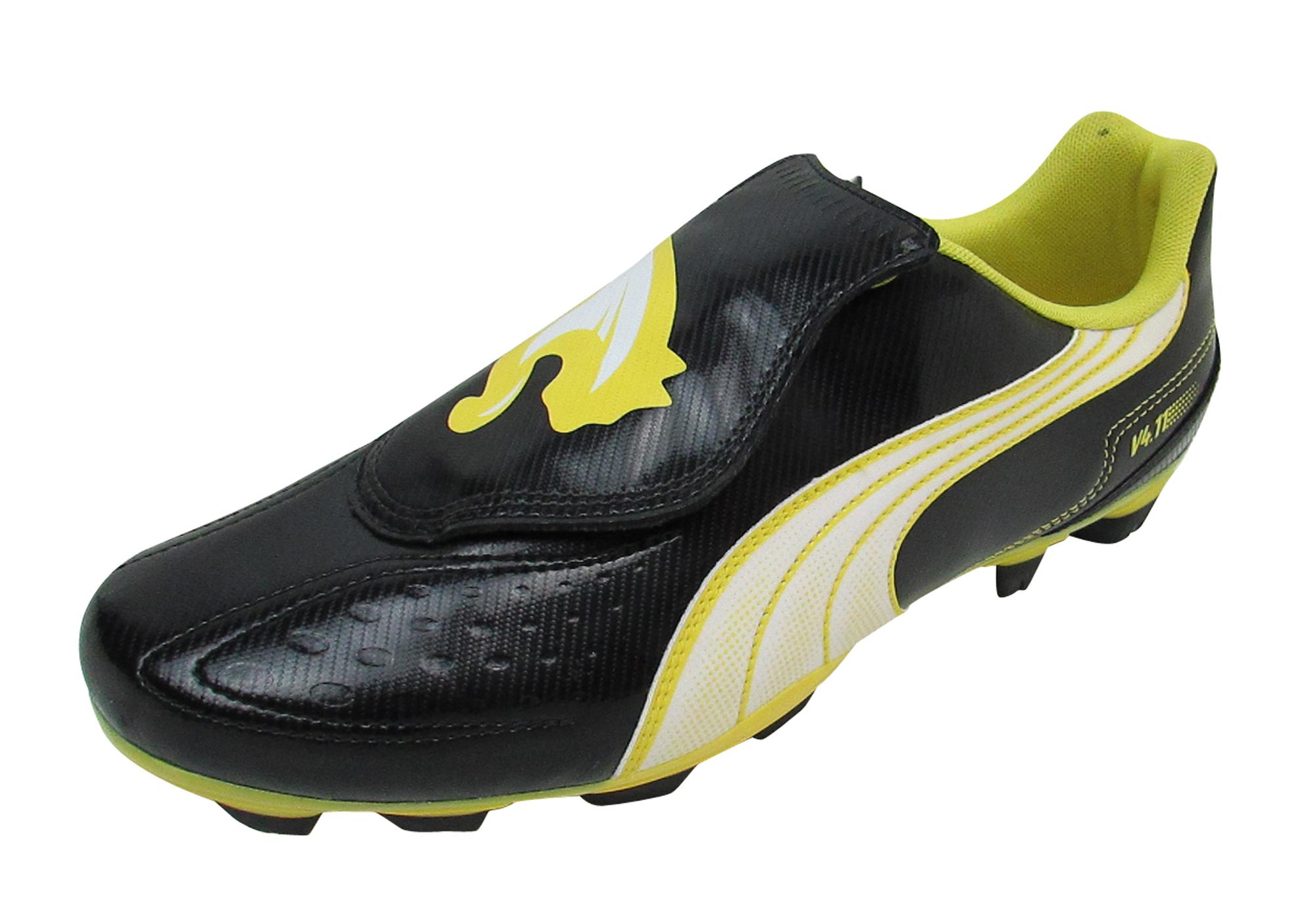 Details zu Mens Puma V4 11 i FG Firm Ground Football Boots Soccer Cleats Boot Size UK 6 12