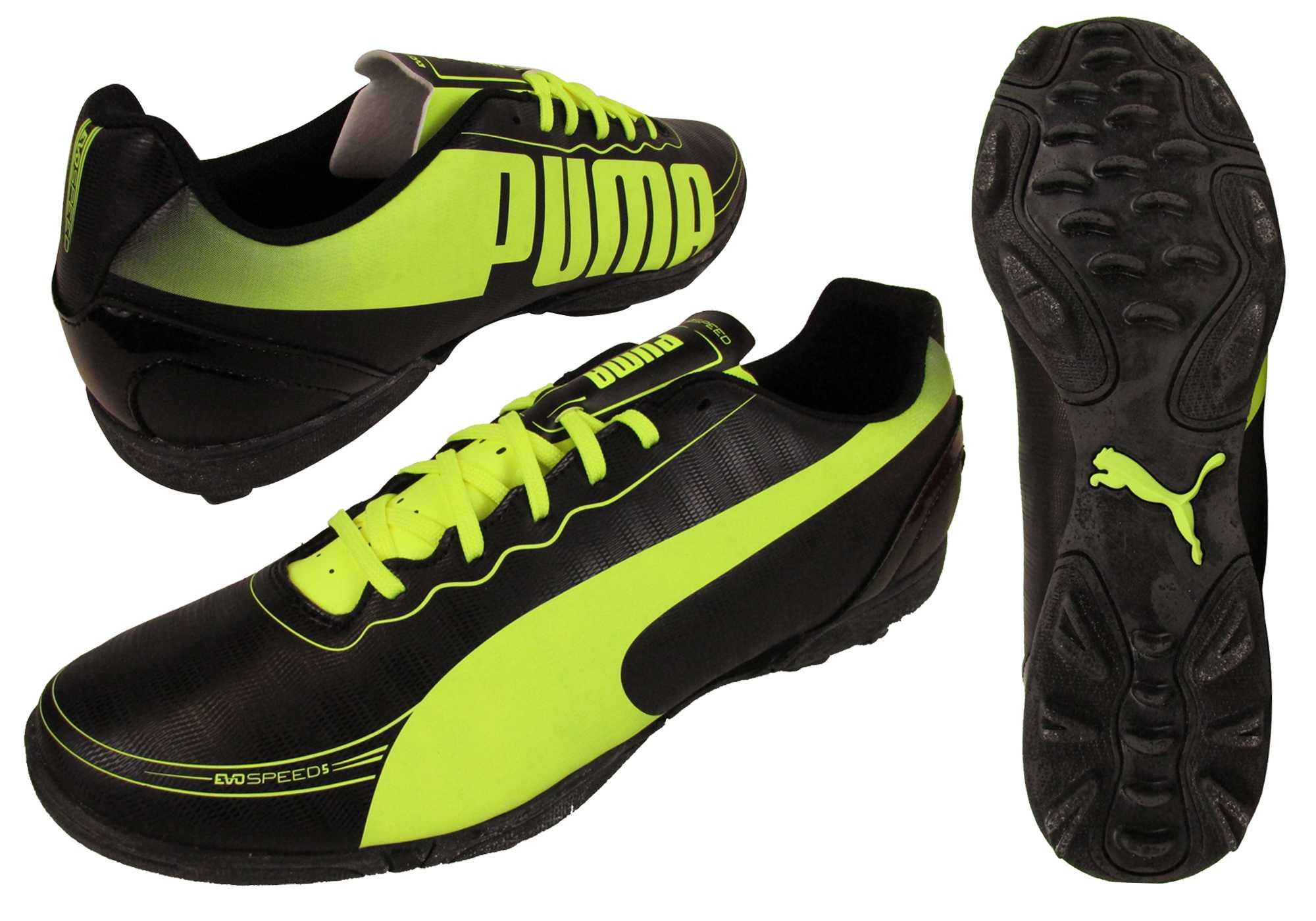 Détails sur Homme puma evospeed 5.2 tt football baskets evo speed turf cinq un côté bottes nouveau afficher le titre d'origine