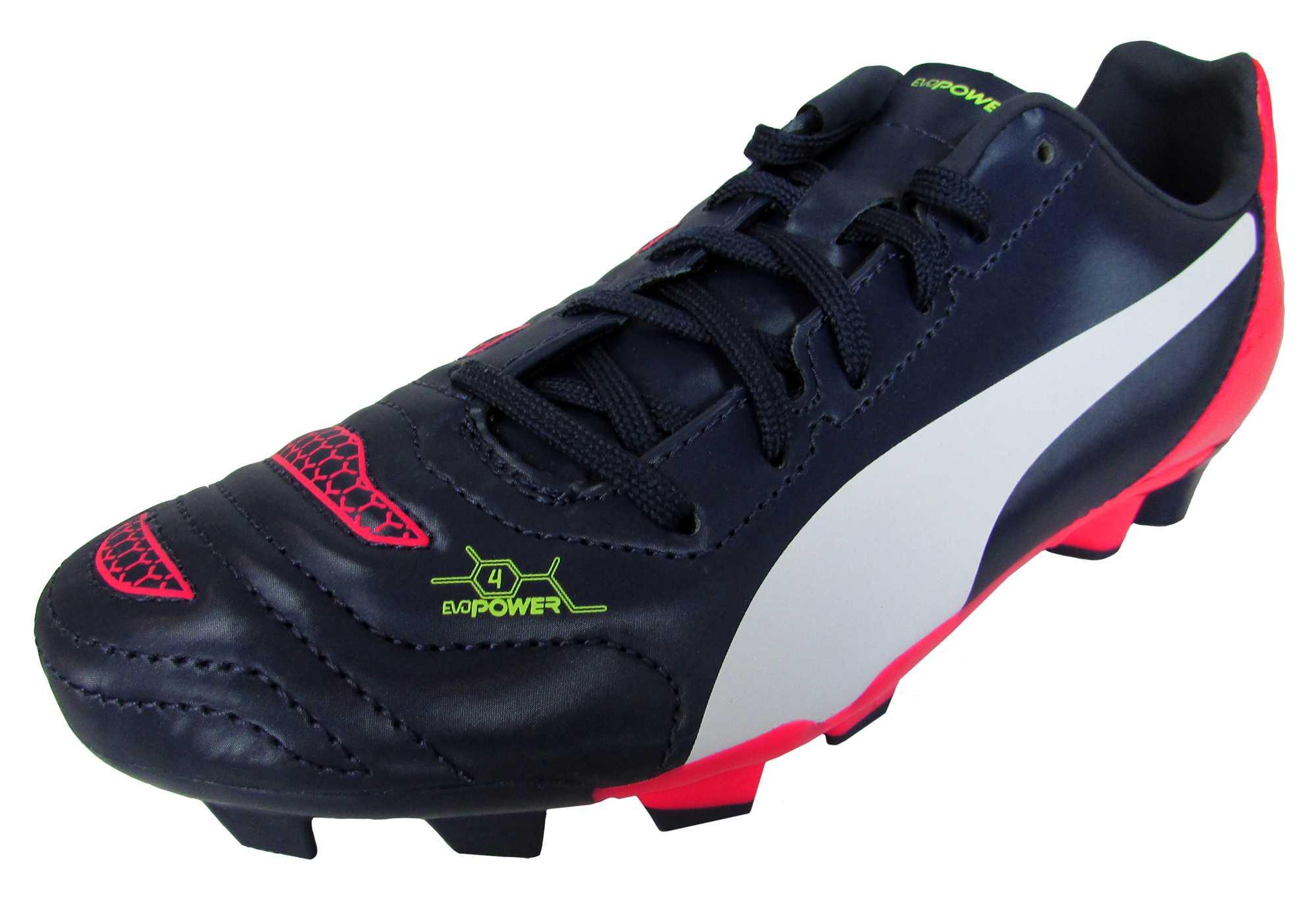 be62838d7 Boys Puma evoPOWER 4.2 FG Firm Ground Football Boots Junior Sizes Soccer  Boot