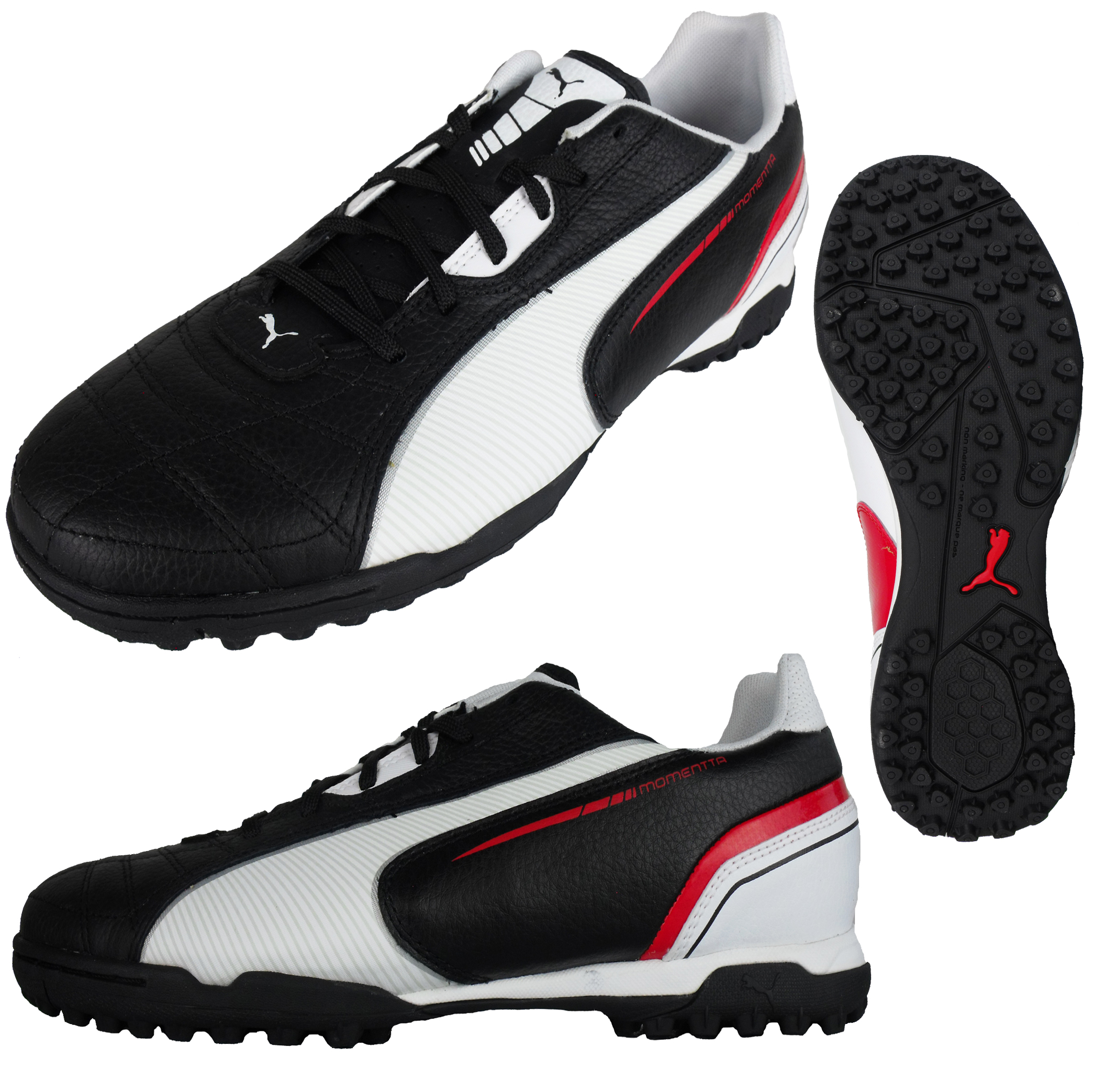 check out 9b7f2 862df ... Mens Puma Momentta TT Football Astro Turf Trainer Soccer Trainers  Astros Leather ...