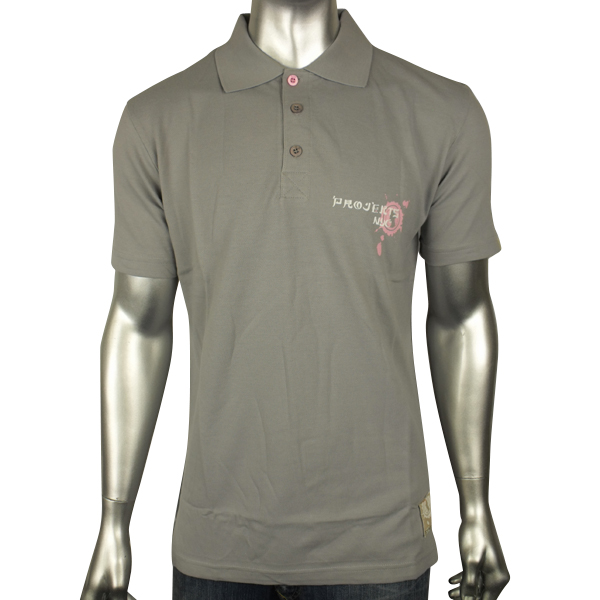 Mens projekts nyc designer fashion graphic polo shirt top for Top decorators nyc