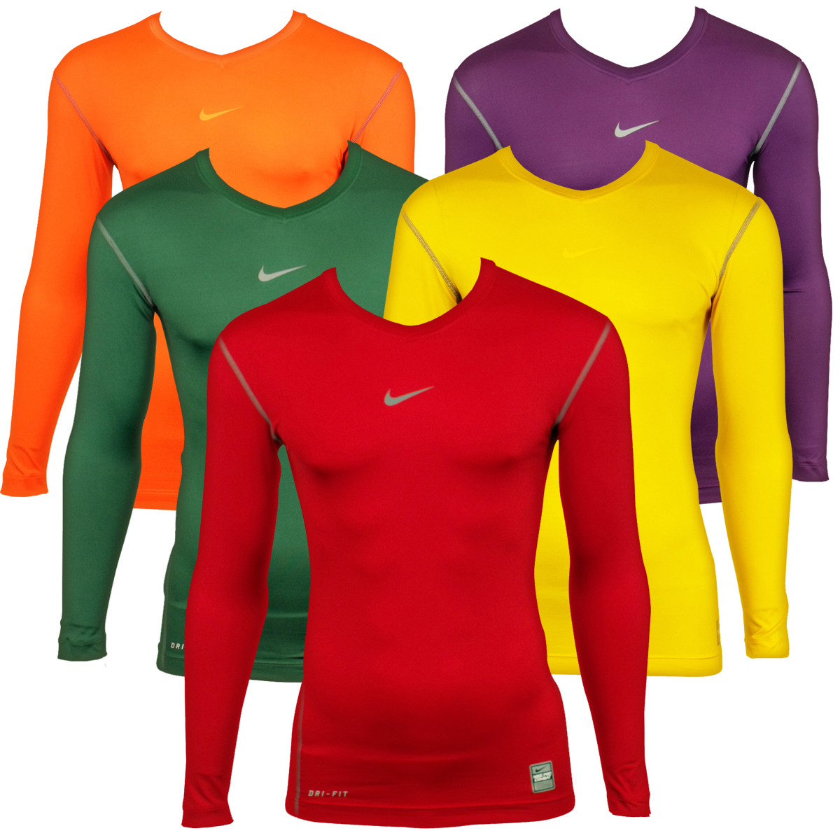 t shirt compression nike