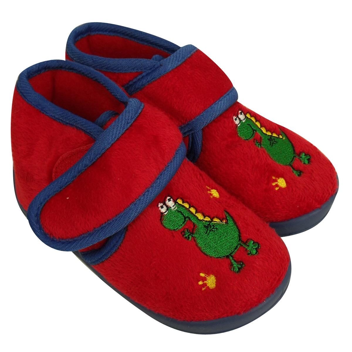 Girls boys childrens toddlers novelty ankle boot slipper for Novelty children s fabric