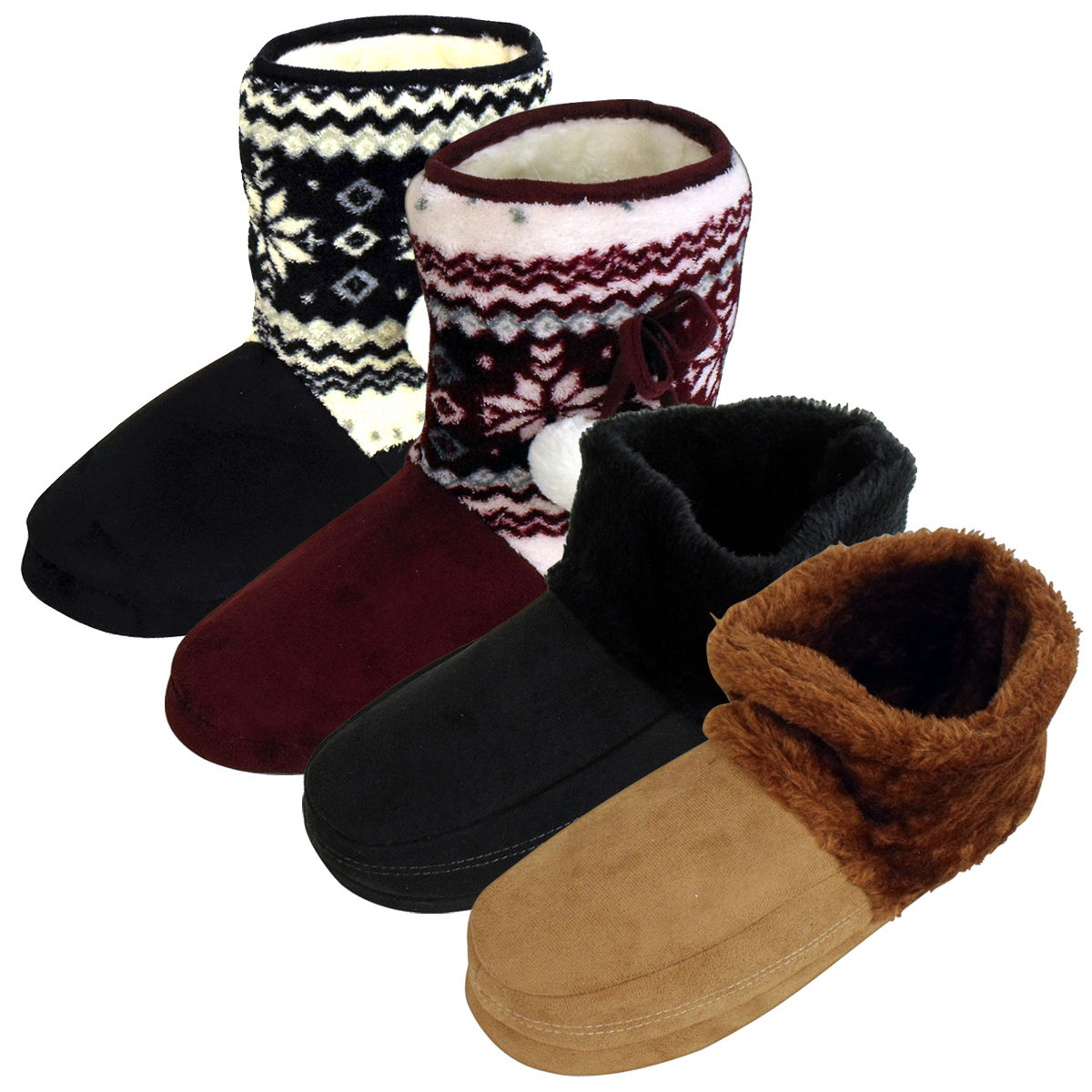 dopo genuino scarpe classiche Dettagli su Donna Uomo dunlop Furry Stivaletto Pantofole a Scarponcino  Eskimo