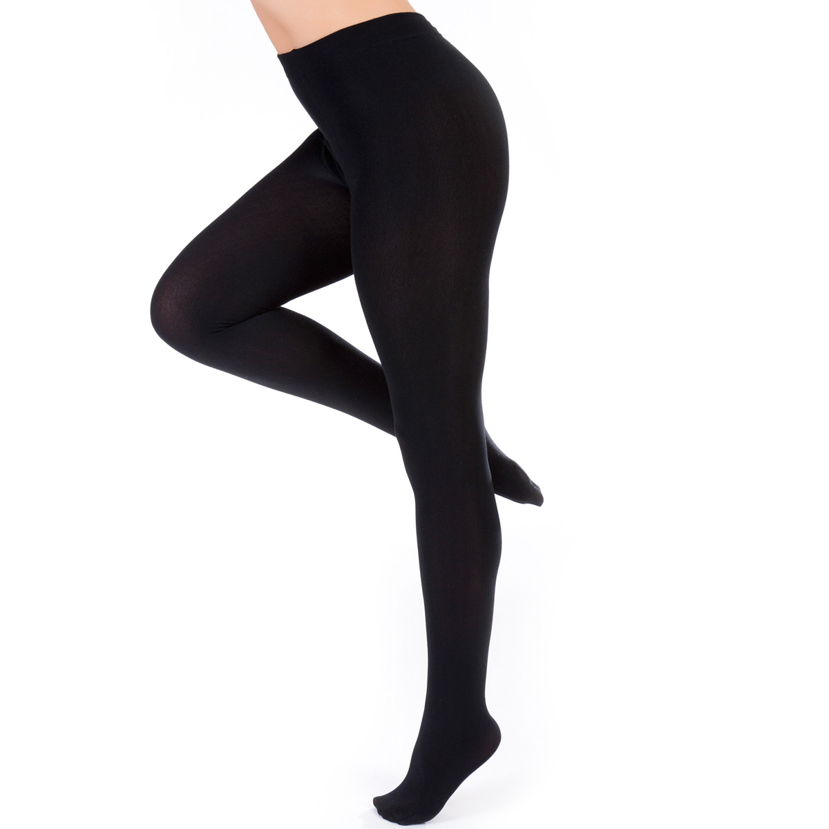 e2bfab03ec7 Details about Ladies Thick Winter Thermal Leggings Black