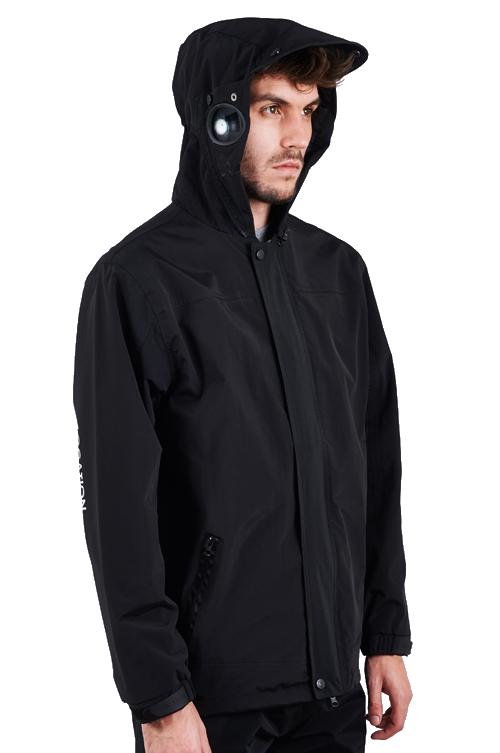 1e909e777 Details about Mens Location Apex Venom Black Goggle Jacket Waterproof Taped  Seams School Coat