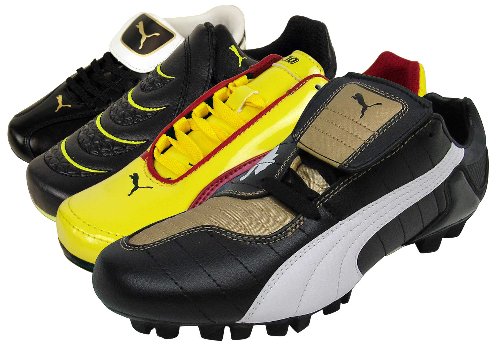 693c055e63e Details about Boys Puma FG Firm Ground Football Boots Junior Sizes Soccer  Boot Kids Size 10-6