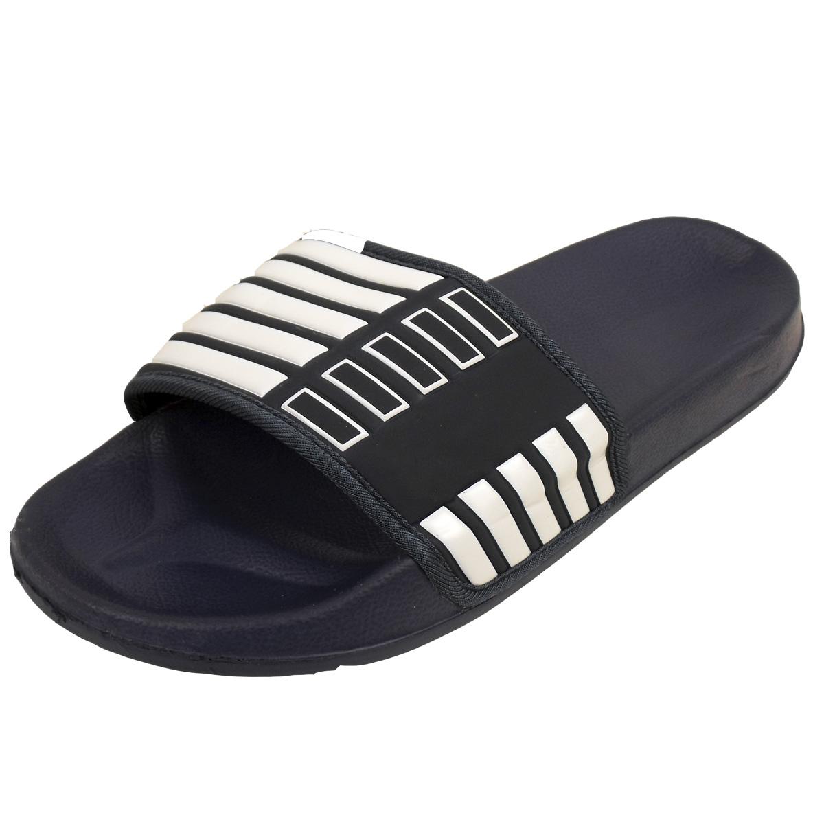 7eca4f447f5 Details about Mens Slide Mules Sandals Pool Beach Water Flip Flop Flops  Sandal Shower Shoes