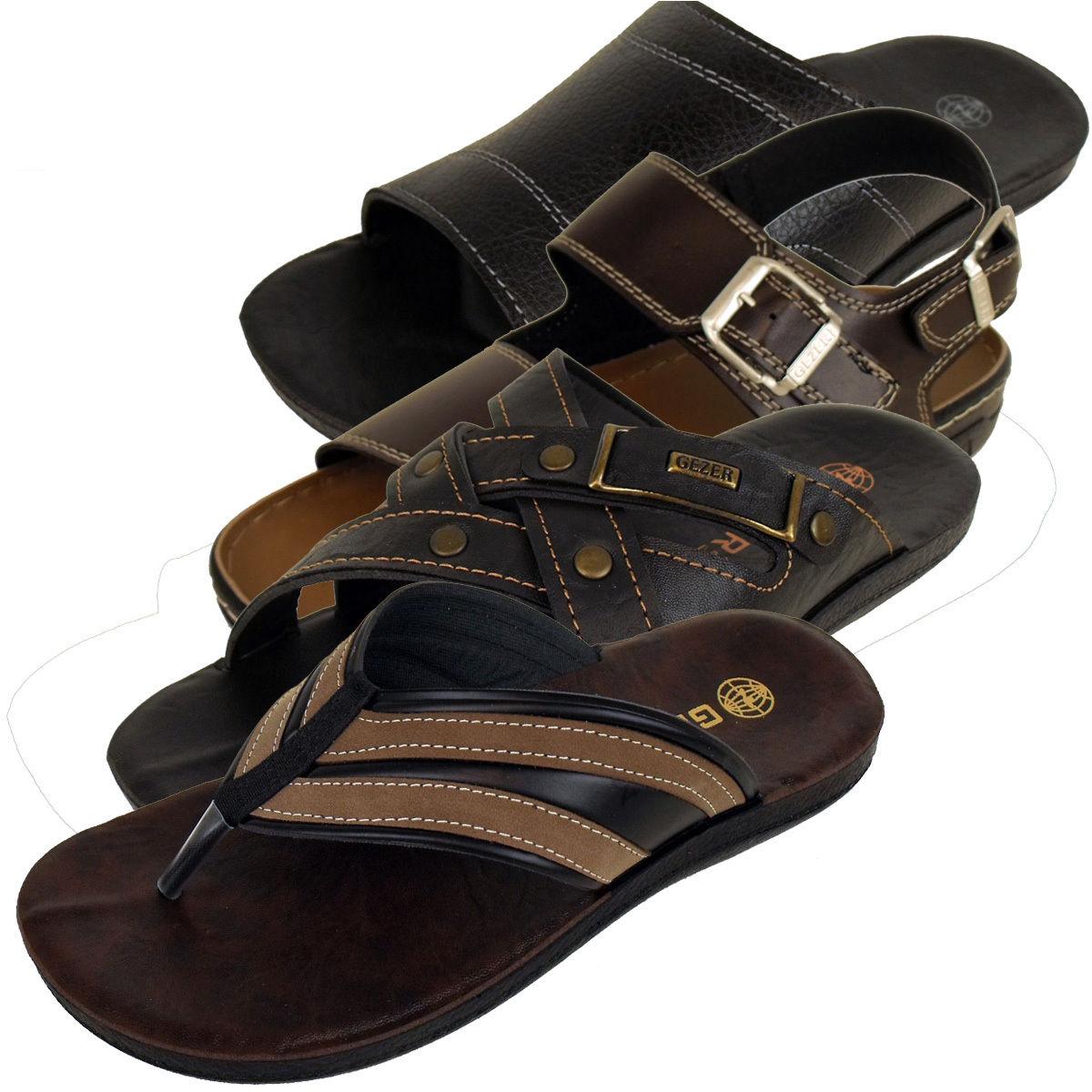 5431d2859457e Hommes Faux cuir Plage Sandales Mules Sandales Chaussures d été EU 40.5-47