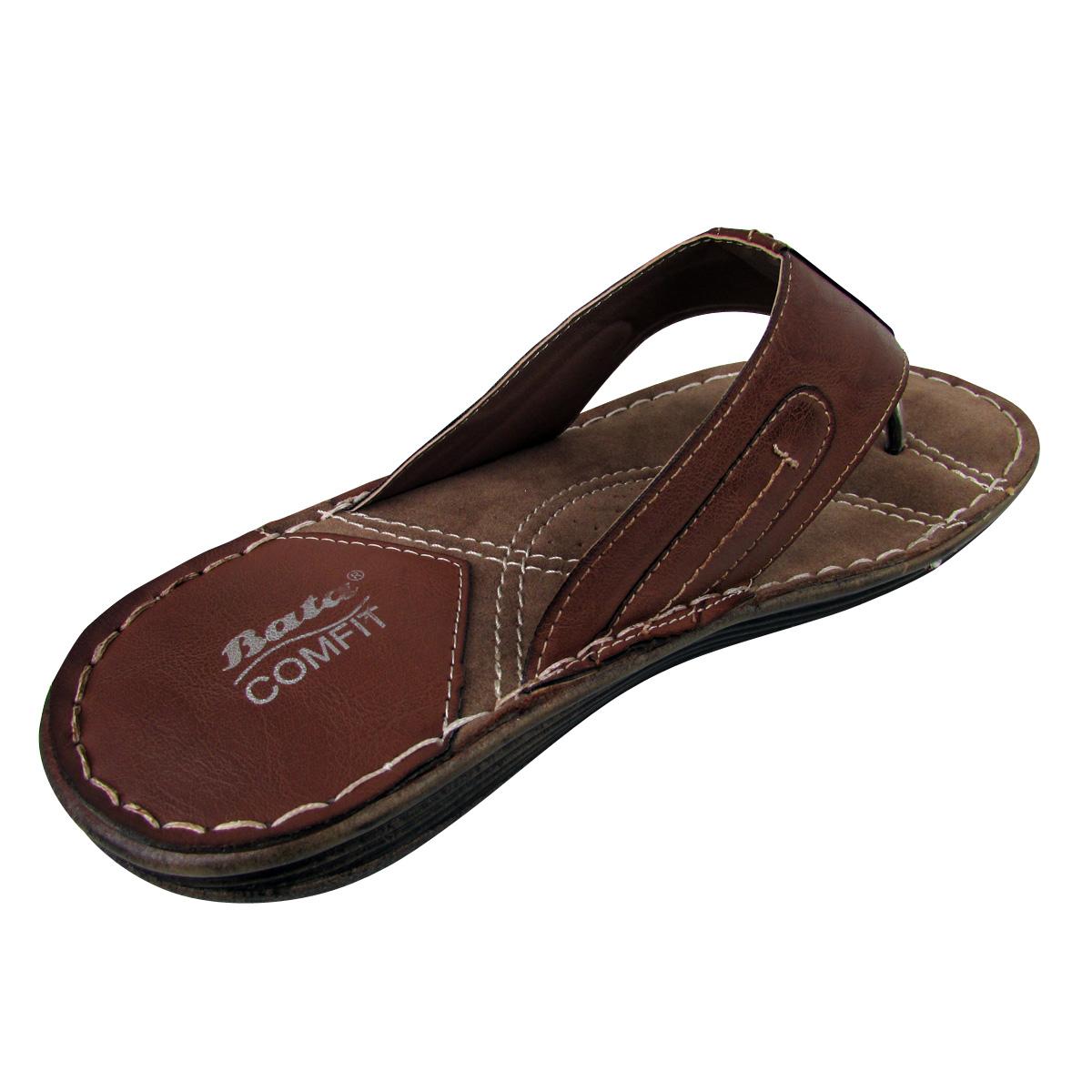 Mens Leather Smart Bata Sandals Mule Casual Quality Sandal Shoes Cut Out Design Ebay
