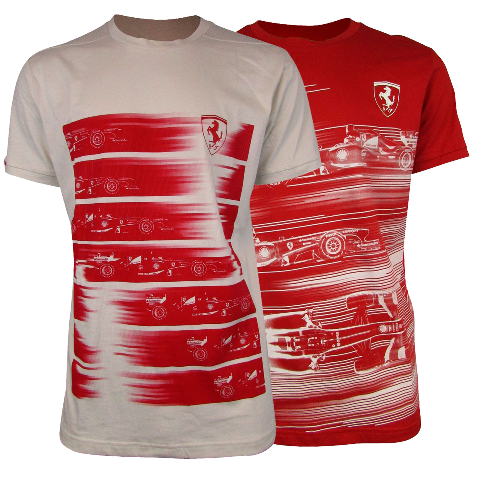0b47a9005116 Details about Mens Puma SF Scuderia Ferrari Formula 1 One Replica T-Shirt  Top Graphic Tee
