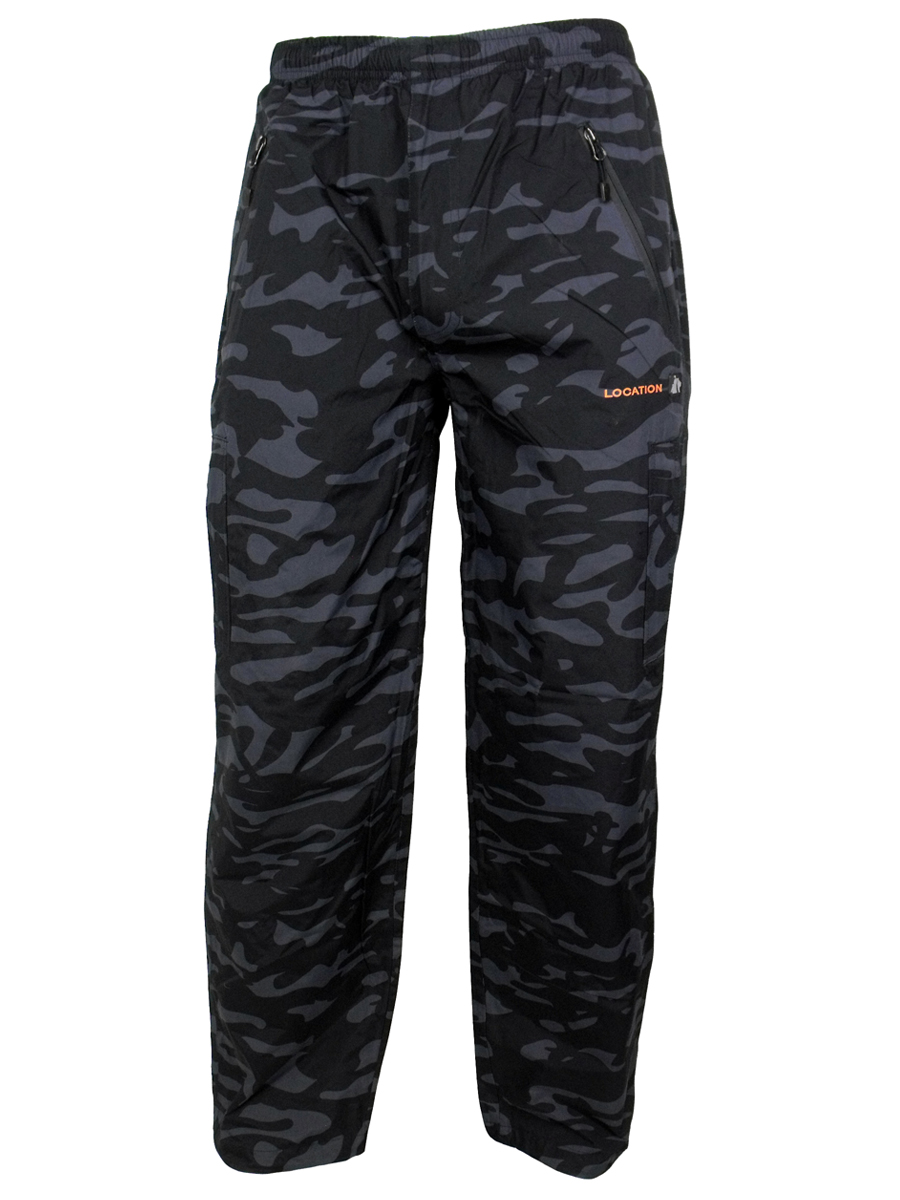 Mens Location New Tracksuit Track Pant Pants Bottoms Waterproof Trackies