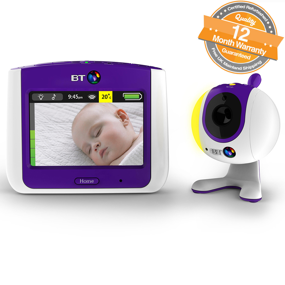 bt video 3 5 lcd touchscreen baby monitor 7000 with. Black Bedroom Furniture Sets. Home Design Ideas
