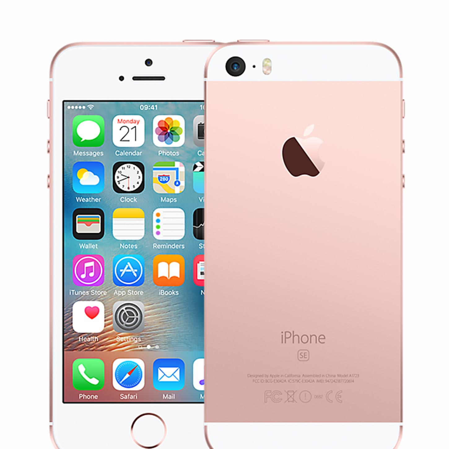 apple iphone se 32gb 4 12mp camera unlocked sim free smartphone in rose gold 190198293794 ebay. Black Bedroom Furniture Sets. Home Design Ideas