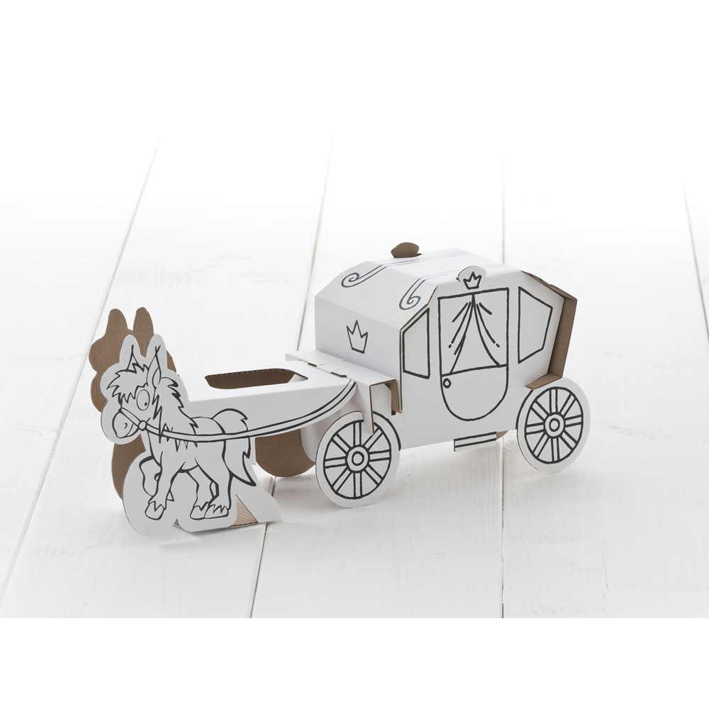how to build a horse drawn carriage