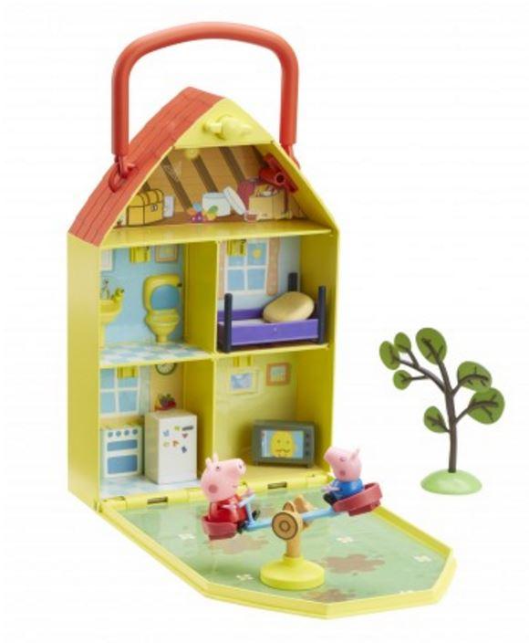 Detalles de Peppa Pig - Peppas Casa y Jardín Parque Infantil