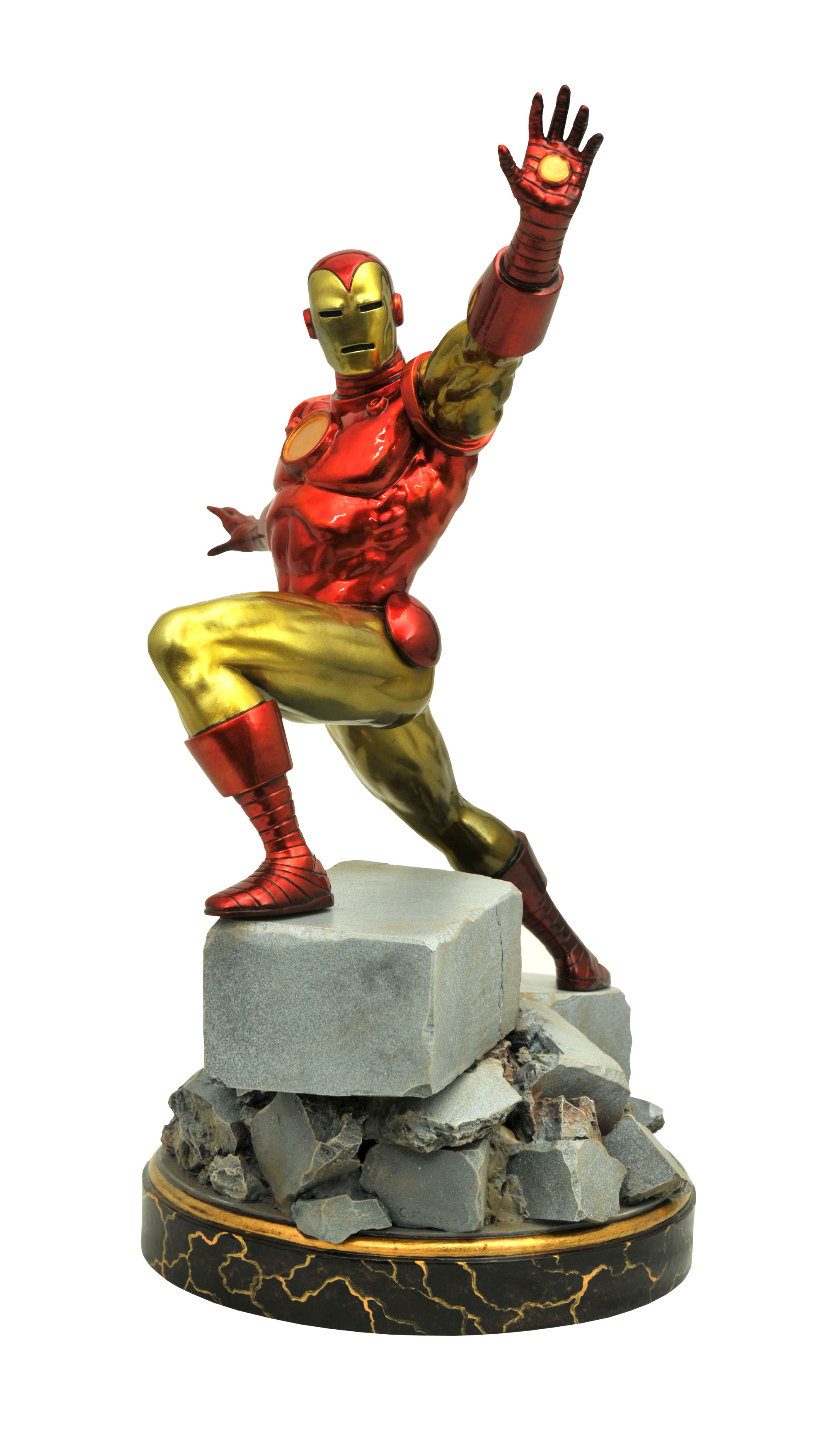 Sentinel Marvel Premier Collection - Classic Iron Man Statue