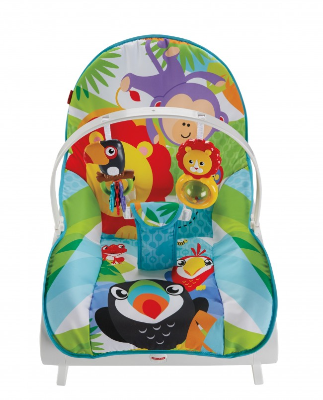 6bedba148111 Fisher-Price - Infant-to-Toddler Rocker - Baby Bouncer Chair ...