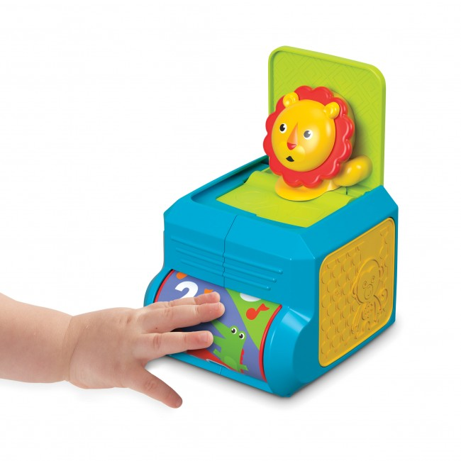 Fisher-Price Spin n Surprise Lion