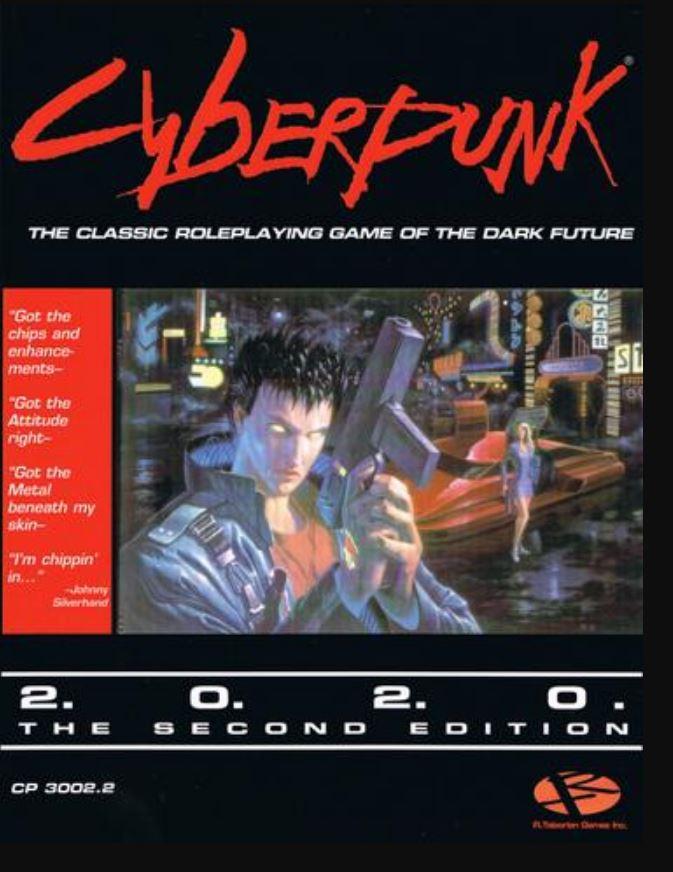 Cyberpunk 2020 RPG 2nd Edition - Core Rulebook | eBay