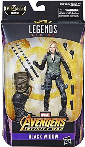 Details About Marvel Legends Avengers Infinity War Black Widow Figure 6 Inch
