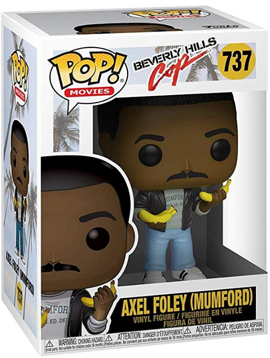 Funko Pop Movies: Beverly Hills Cop Axel Mumford