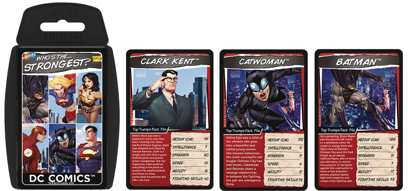 Top Trumps Rules >> Details About Dc Comics Top Trumps Card Game