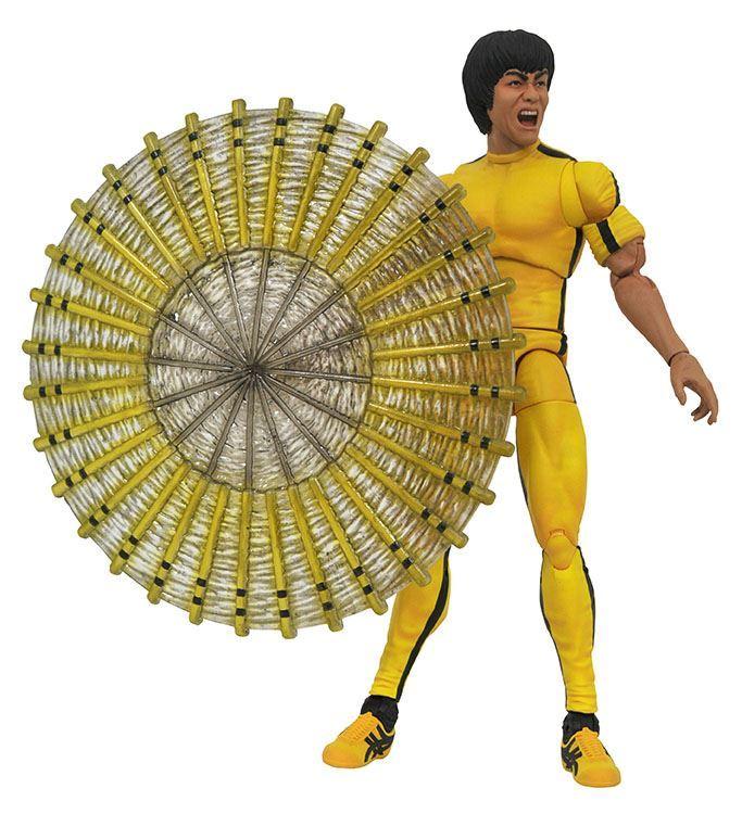 Bruce Lee Select Jaune Combinaison Action Figure