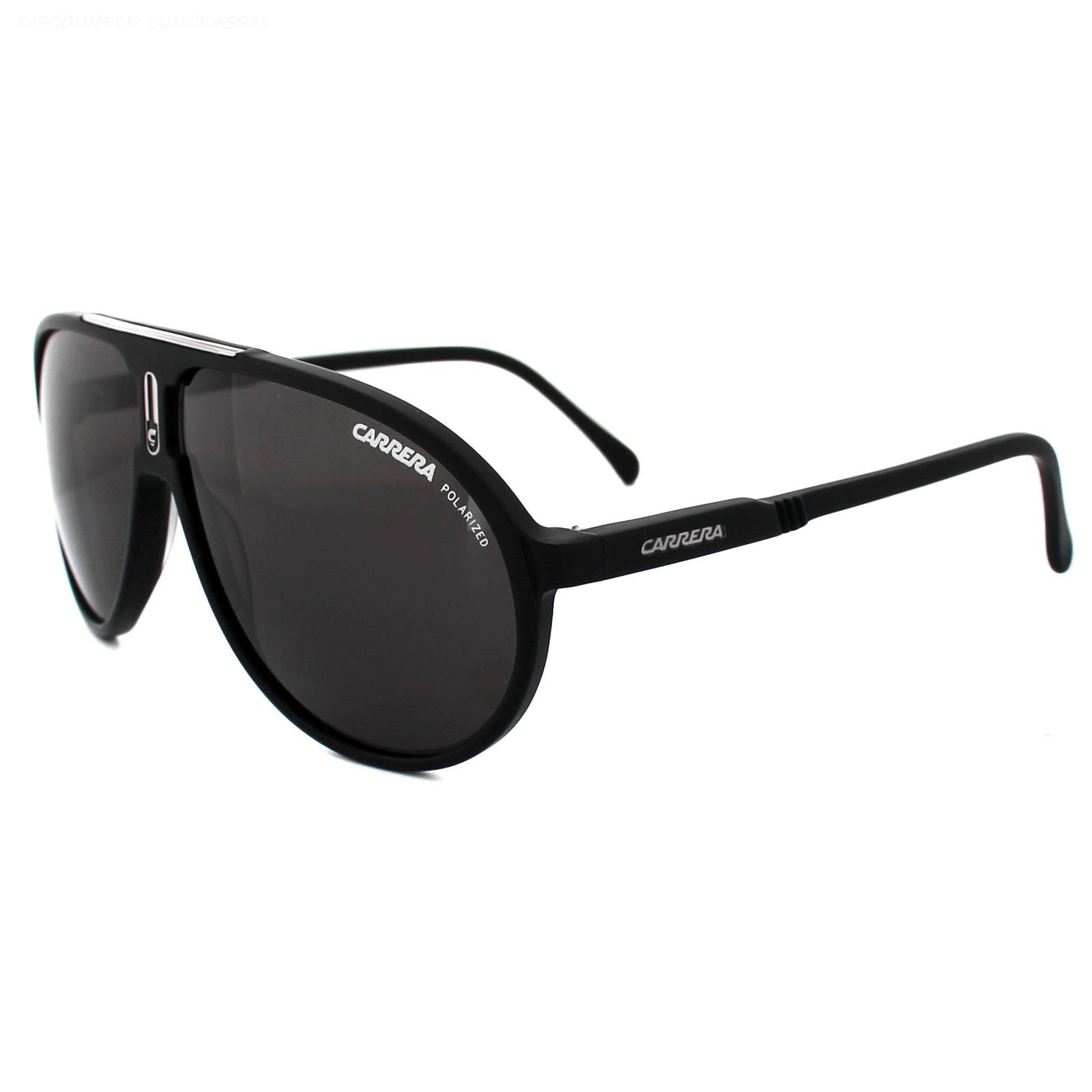 e7ecff1788 Carrera Sunglasses Champion  AC QHC M9 Matt Black Grey Polarized Thumbnail  1 ...