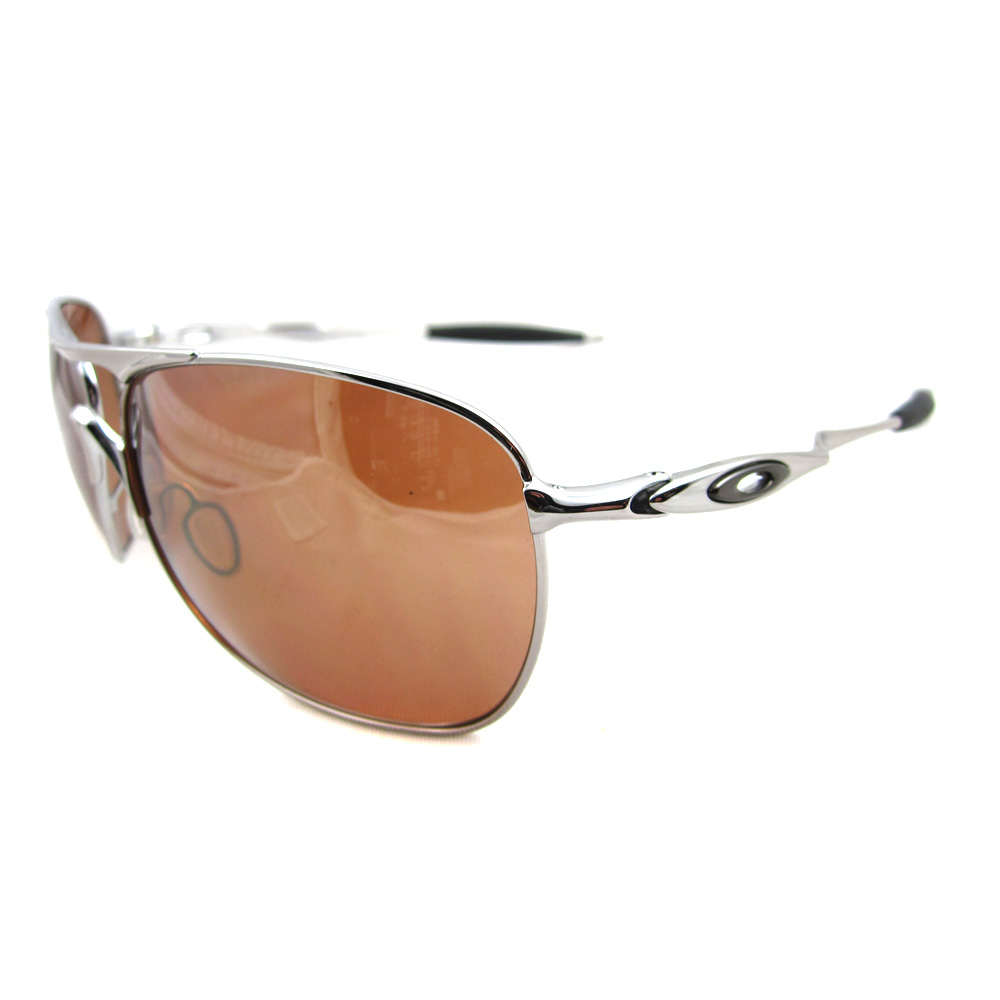 985eb15eed Sentinel Oakley Sunglasses Crosshair Chrome VR28 Black Iridium OO4060-02